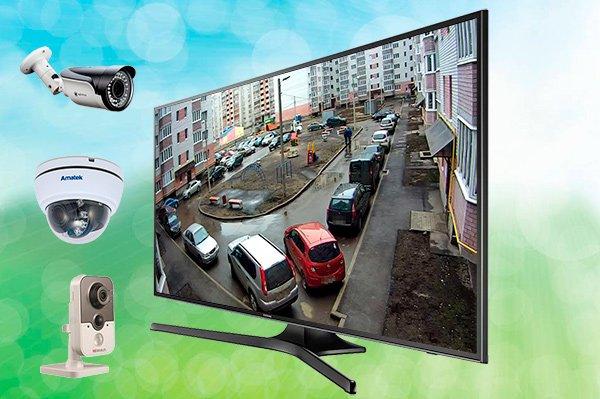 Подключение камер наблюдения к телевизору обзор разных схем с описанием